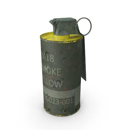 Дымовая граната M18