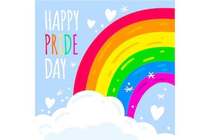 Pride Day Rainbow