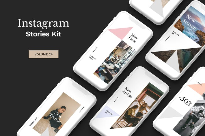 Thumbnail for Instagram Stories Kit (Vol.24)