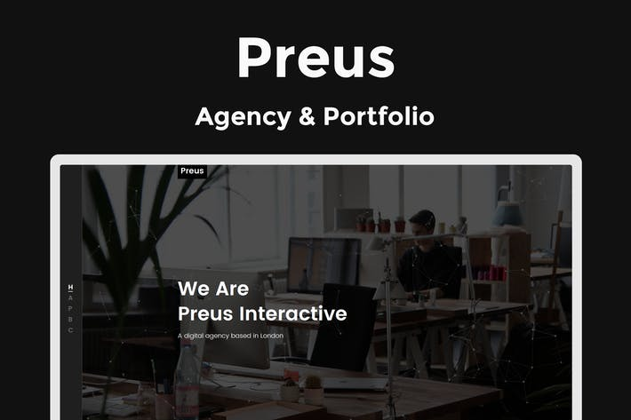 Thumbnail for Preus - Digital Agency / Portfolio Template