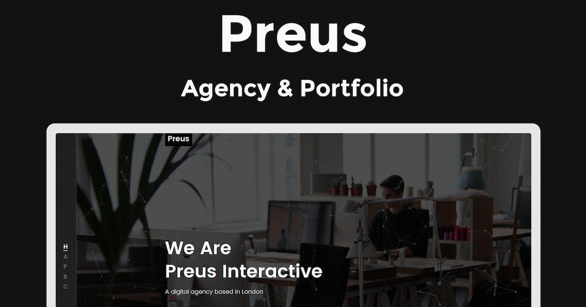 Download Preus - Digital Agency / Portfolio Template by ThemeStarz
