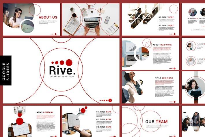 Thumbnail for Rive - Бизнес-Шаблоны слайдов Google