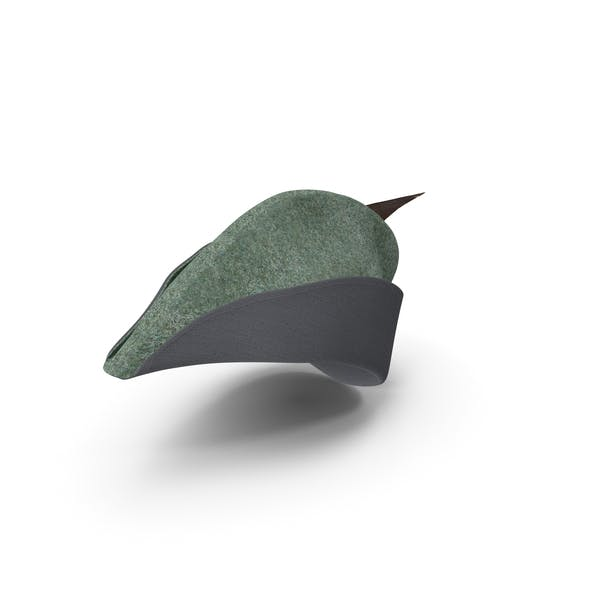 Thumbnail for Medieval Archer Cap With Feather
