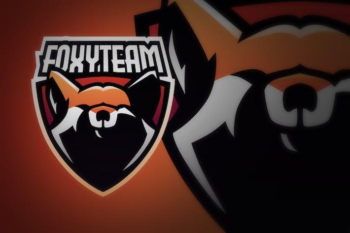 Thumbnail for Fox Head Shield E Sport Logo Illustration