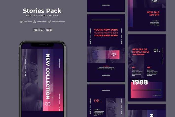 Thumbnail for SRTP - Stories Pack. v4