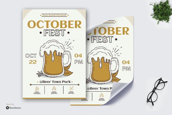 Thumbnail for October Fest - Poster GR