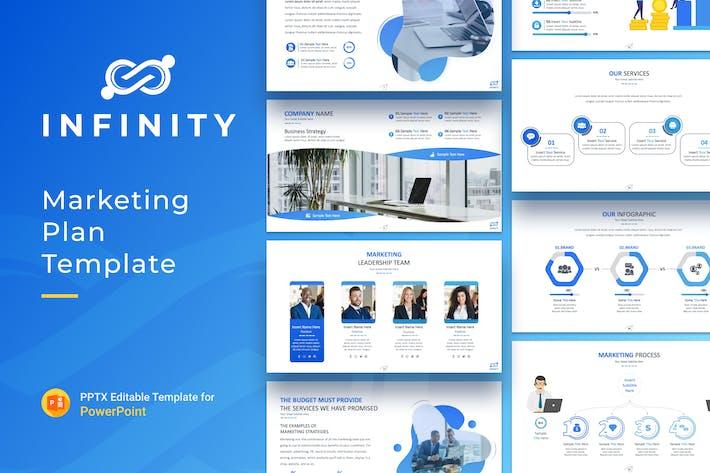 Thumbnail for Infinity Marketing Plan Presentation Template