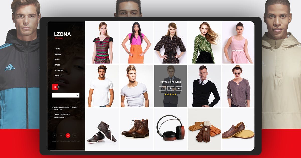 Download Minimal Slide E-commerce Online Shopping Template by UserThemes