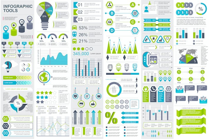 Cover Image For Infographic Elements