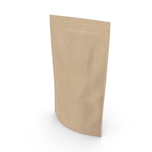 Zipper Kraft Paper Bag 400g