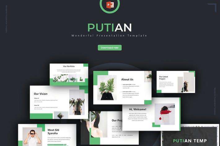 Putian - Powerpoint Template