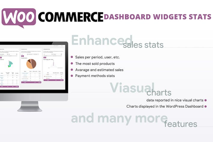 Thumbnail for WooCommerce Dashboard Widgets Stats