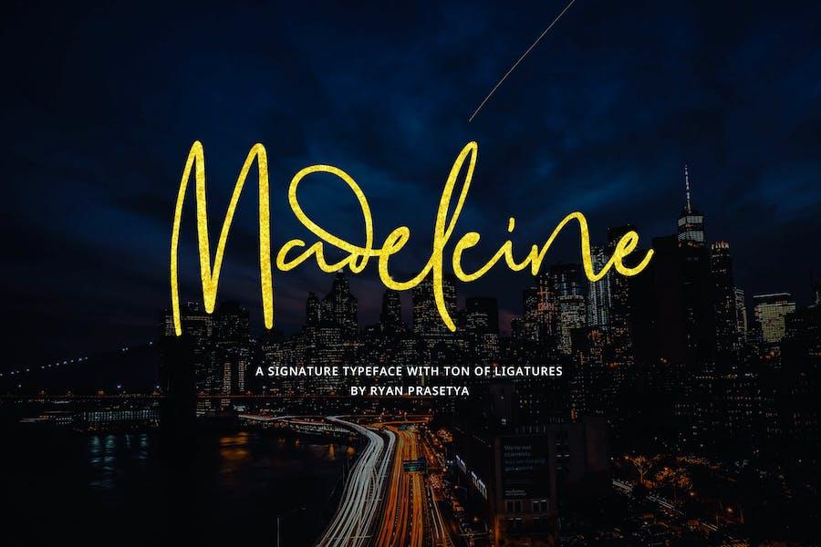 Madeleine Signature