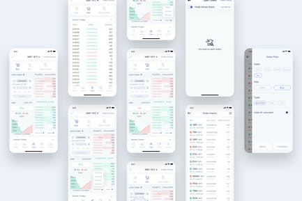 Trade - CryptoTrade UI - FM