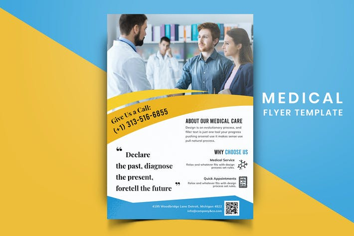 Thumbnail for Medical Flyer Template-07