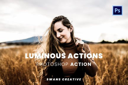 Luminous Actions Photoshop Action