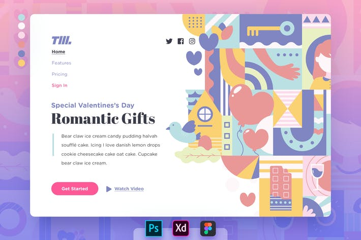 Thumbnail for Landing Page v.06 Valentine