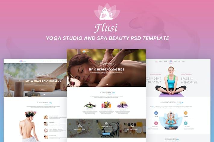 Thumbnail for Flusi - Yoga Studio and Spa Beauty