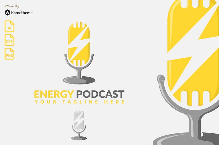 Thumbnail for Energy Podcast - Logo KF