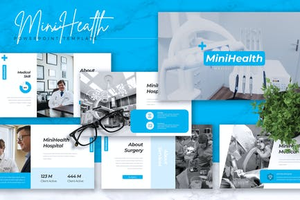 MINIHEALTH - Medical Powerpoint Template
