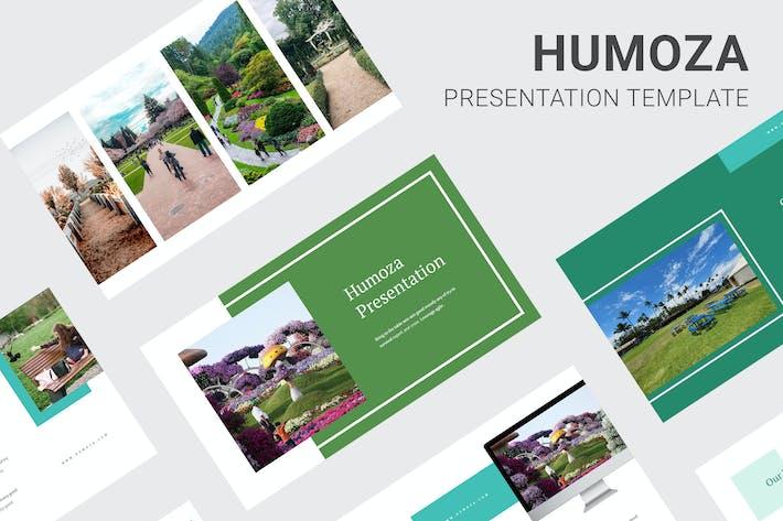 Thumbnail for Humoza - Питч-палуба Powerpoint