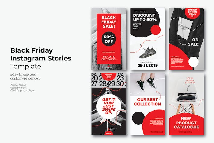 Thumbnail for Black Friday Simple Instagram Story