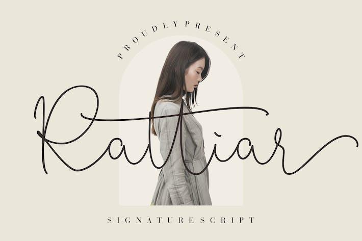 Script de signature rattiar
