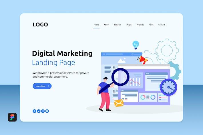Thumbnail for Dimar - Digital Marketing Landing 3