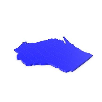 Висконсин графства Карта