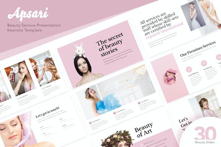 Thumbnail for Apsari - Презентация косметологические услуги