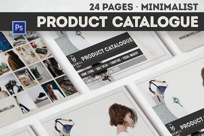 Thumbnail for Catalogue de produits minimaliste