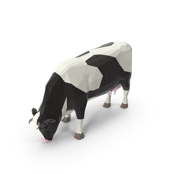 Thumbnail for Low Poly Cow