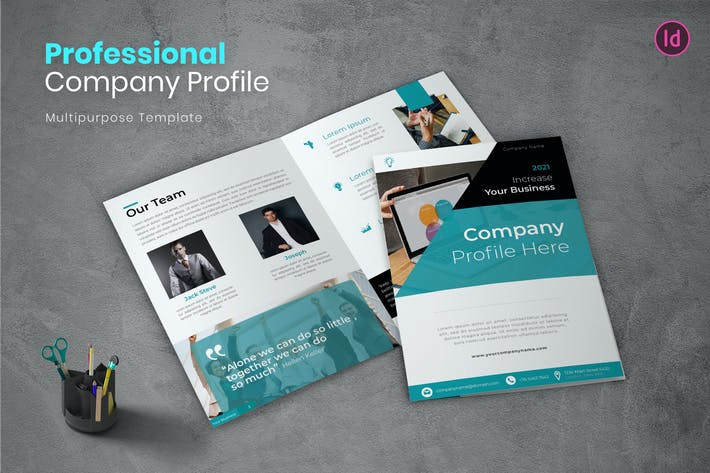 Thumbnail for Professional Company Profile