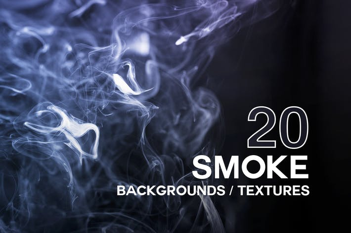 Thumbnail for 20 Smoke Backgrounds / Textures