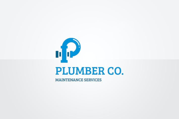 Thumbnail for Plumber Logo Template