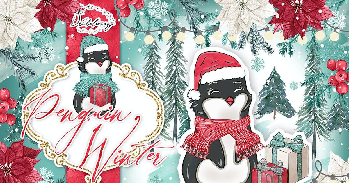 Download Penguin Winter design by designloverstudio