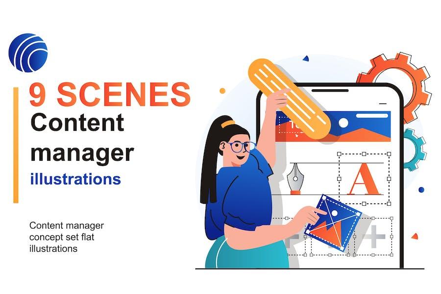 Content Manager Web Scenes Set