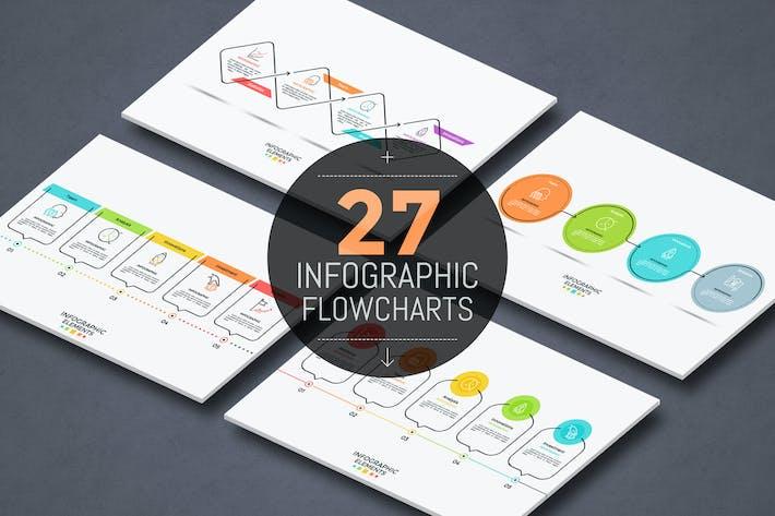 Thumbnail for 27 Инфографика Блок-схемы