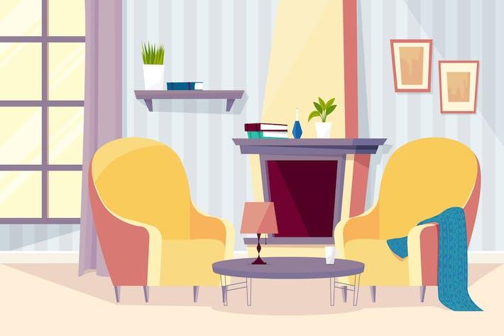 Thumbnail for Zimmer des Alten Volkes - Illustration Hintergrund