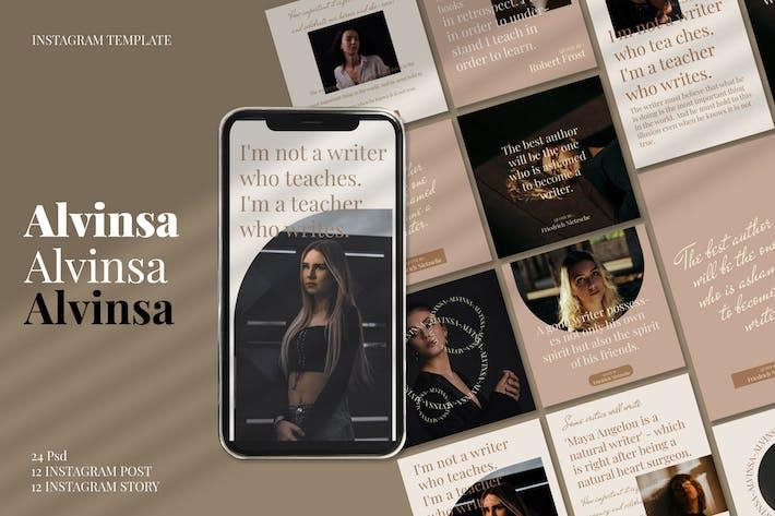 Alvinsa - Social Media Pack