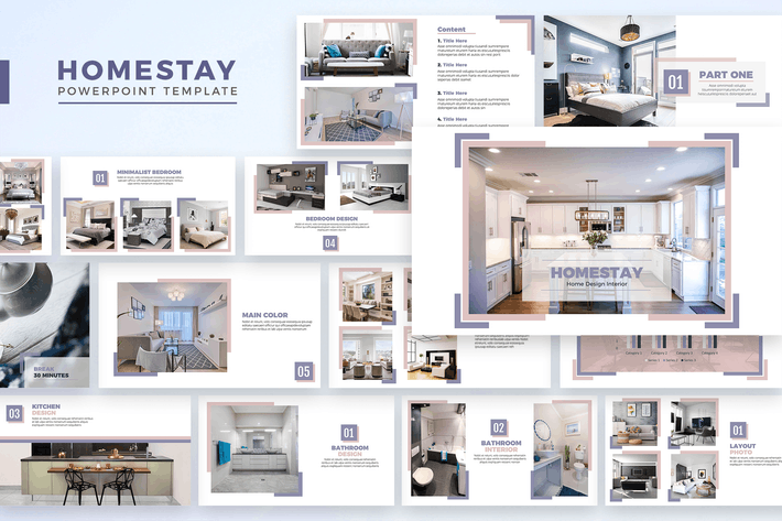 Thumbnail for Homestay - Powerpoint Template