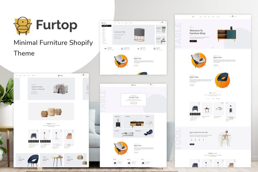 Furtop — Minimal Furniture Shopify Tema