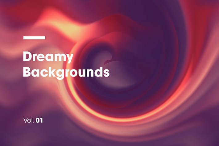 Thumbnail for Dreamy Backgrounds | Vol. 01