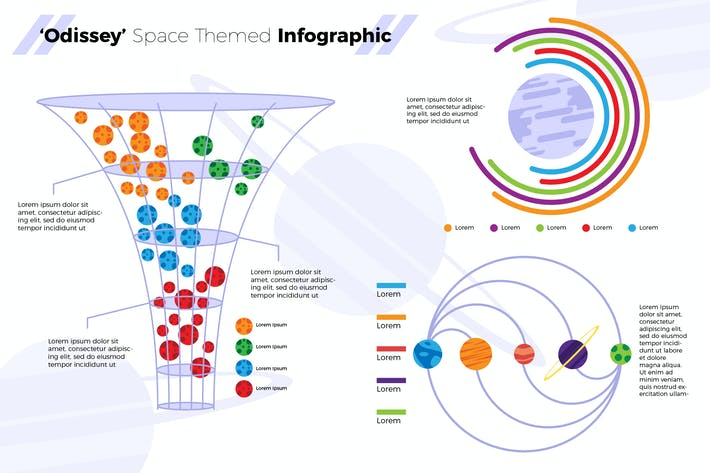 Thumbnail for Odissey Space - Infographic