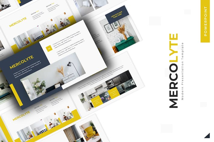 Mercolyte - Powerpoint Template