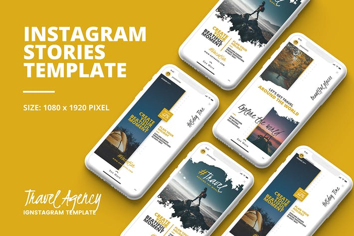 Thumbnail for Travel Instagram Story Template