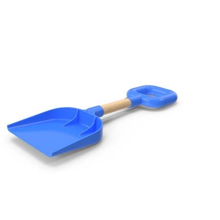 Beach Shovel Blue