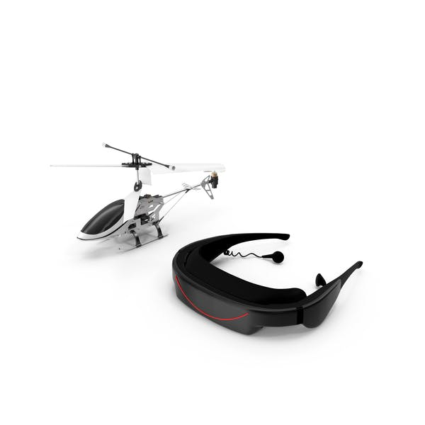 Cover Image for Helicopter with VR Headset