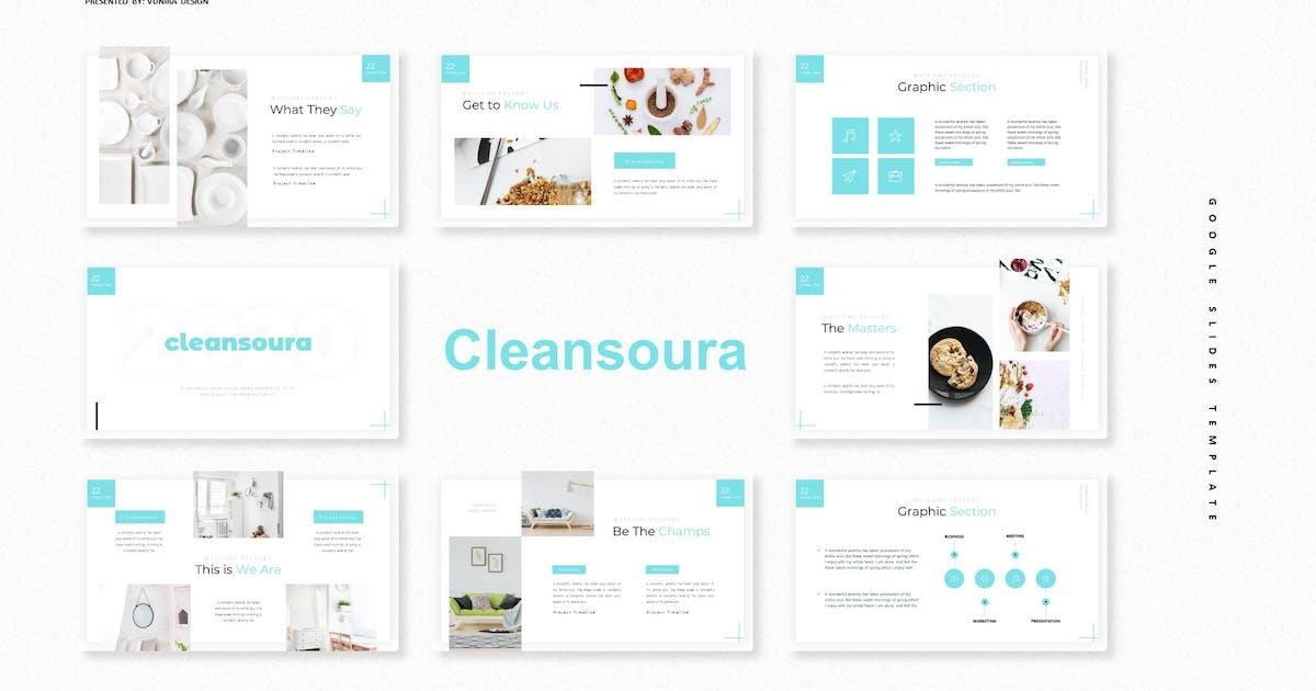 Download Cleansoura   Google Slide Template by Vunira