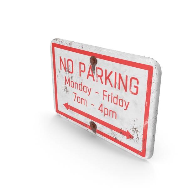 """Schild """"No Parking Road"""" ver"""